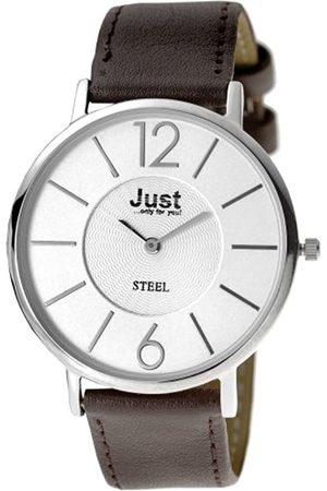 Just Uhren Herrenarmbanduhr Quartz 48-S2804A-WH-BR