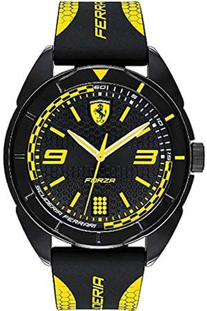 Scuderia Ferrari Herren Uhren - ScuderiaFerrariUnisexAnalogQuarzUhrmitSilikonArmband830516