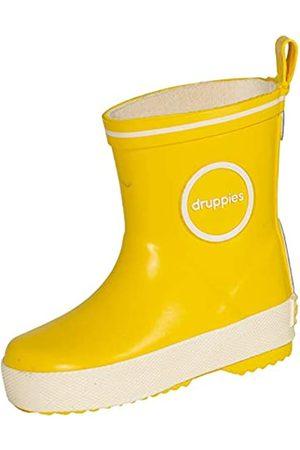 Druppies Unisex-Kinder Regenstiefel Gummistiefel, (Bright Yellow 011)