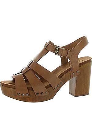 White Mountain Shoes Damen Aldridge Sandale, (cognac)