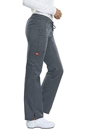 Dickies Damen Low Rise Straight Leg Drawstring Pant Medizinische Scrubs Hosen