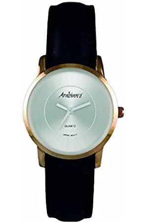 Arabians Herren Uhren - HerrenAnalogQuarzUhrmitLederArmbandDBH2187WN