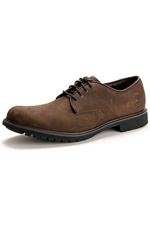 Timberland Herren Stormbuck Plain Toe Waterproof Oxford Schuhe, (Burnished Dark Brown Oiled)