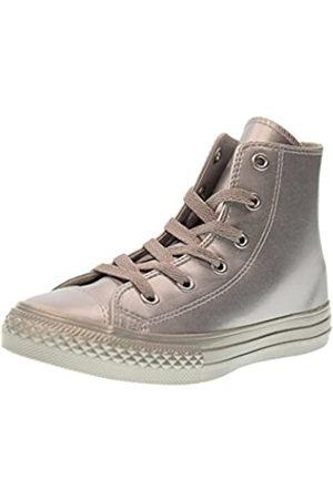 Converse Jungen Unisex-Kinder CTAS Hi Metallic Synth Leather Hohe Sneaker