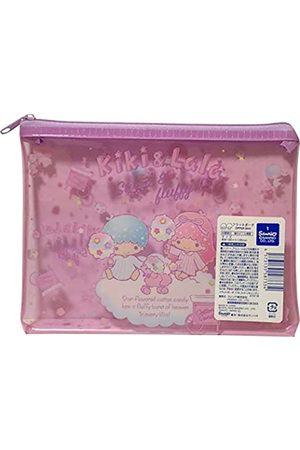 Friend Koffer - Sanrio Little Twin Stars Kosmetiktasche, Vinyl, Reißverschluss, 18 x 13