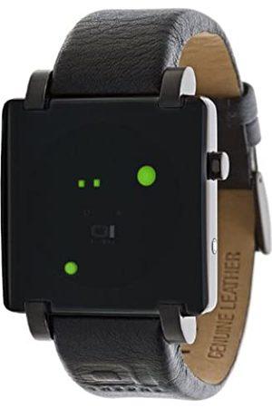 Unbekannt Uhren - The One Unisex-Armbanduhr Gamma Ray Digital Leder GRQ1003R1
