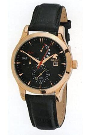 Carucci Herren Uhren - Herrenarmbanduhr Automatik CA2140BK-RG