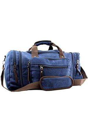 JIAO MIAO Handtaschen - Unisex - Erwachsene über Nacht handtaschen-Schulter Segeltuch-Spielraum Tote gepäck Weekender seesack one Size (hardcode) Coffe