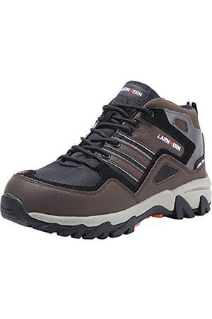 LARNMERN Herren Stahlkappe Sicherheitsschuhe, LM-109 reflektierenden Gürtel Anti-Punktion Industrie und BAU Arbeit Schuhe (45 EU