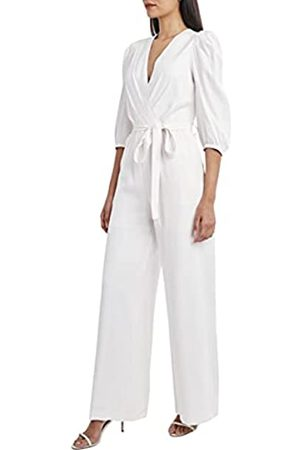 BCBG Max Azria Damen Capris - Damen 3/4 Sleeve Jumpsuit Hose