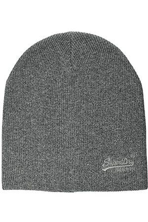 Superdry Mens ORANGE Label Beanie Hat