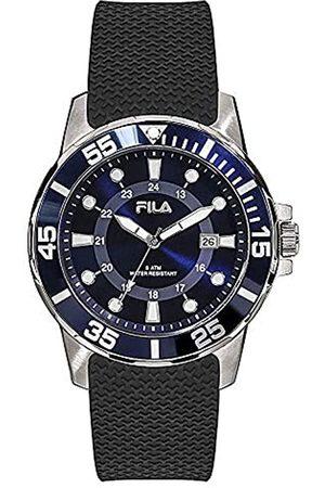 Fila Herren Uhren - UnisexErwachseneAnalogQuarzUhrmitGummiArmband38-120-002