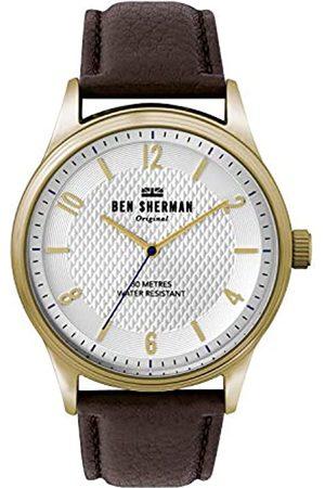 Ben Sherman BenShermanHerrenAnalogQuarzUhrmitLederArmbandWB025TG