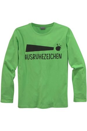 KIDSWORLD Langarmshirt »Ausruhezeichen«