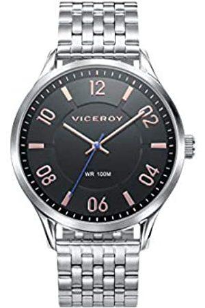 Viceroy HerrenAnalogQuarzUhrmitEdelstahlArmband401087-55