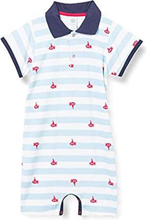 Sanetta Mädchen Jumpsuits - Jungen Strampler blau Baby- und Kleinkind-Schlafanzüge