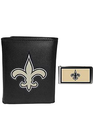 Siskiyou Sports NFL New Orleans Saints Herren Geldbörse, dreifach gefaltet, mit Geldclip