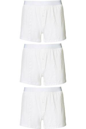 CDLP Herren Boxershorts - 3-Pack Boxer Shorts White