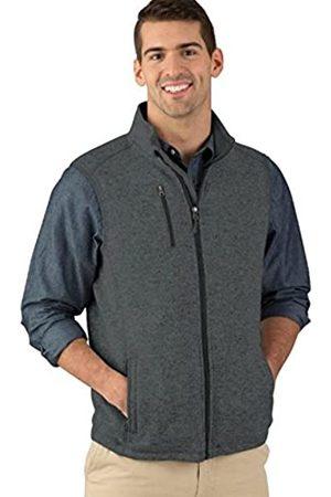 Charles River Apparel Herren Fleece-Weste Pacific Heathered Sweater - - Large