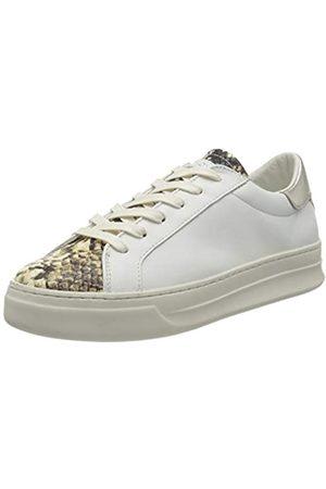 Crime london Damen SONIK Sneaker, White