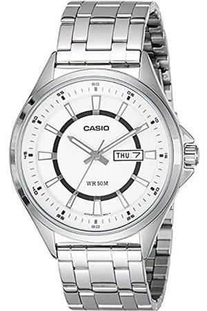 Casio Herren-Armbanduhr Collection Analog Quarz Edelstahl MTP-E108D-7AV