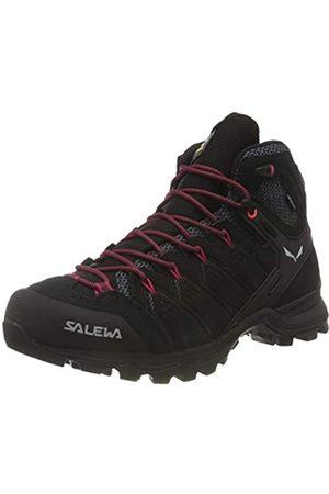 Salewa Damen WS Alp Mate Mid WP Trekking-& Wanderstiefel, Black Out/Virtual Pink