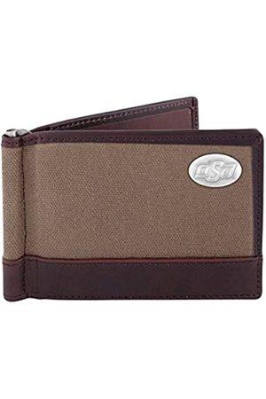 ZEP-PRO Herren Geldbörsen & Etuis - NCAA Oklahoma State Cowboys Canvas Leather Concho Razor Wallet