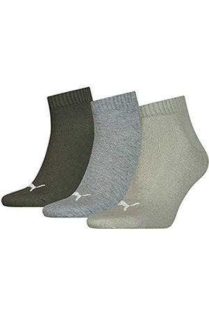 PUMA Unisex Plain Quarter Socken