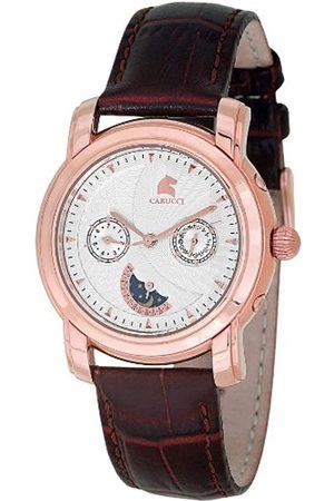 Carucci Herren Uhren - Herrenarmbanduhr Automatik CA2126WH-RG