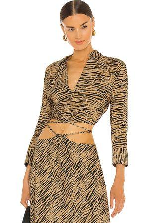 JONATHAN SIMKHAI Damen T-Shirts, Polos & Longsleeves - Mazzy Strap Detail Top in . Size XS, S, M.
