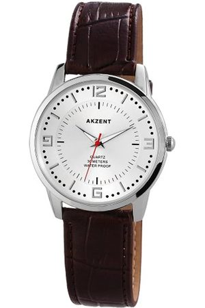 Akzent Herren Uhren - Herren-Armbanduhr XL Analog Quarz Verschiedene Materialien ss7722600016