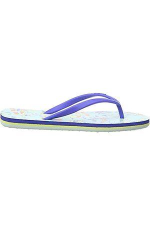 O'Neill Mädchen FG Moya Printed Sandals Zehentrenner, (Blue AOP W/RED 5930)