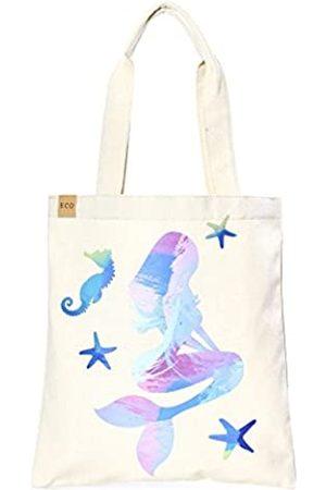 Me Plus Einkaufstasche aus Öko-Baumwolle, stilvoll bedruckt, modisch, für Einkaufs- und Reise
