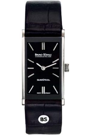 Soehnle Damen Uhren - Bruno Söhnle Damen Analog Quarz Uhr mit Leder Armband 17-73099-741