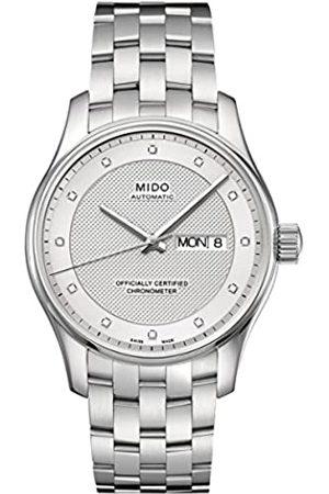 MIDO Herren-Armbanduhr XL Belluna Analog Automatik Edelstahl M0014311103692