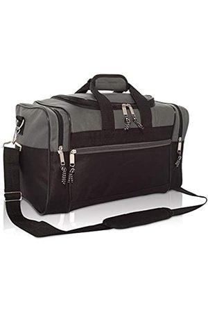 DALIX Herren Handtaschen - 43,2 cm leere Seesack, Reisetasche, Sporttasche
