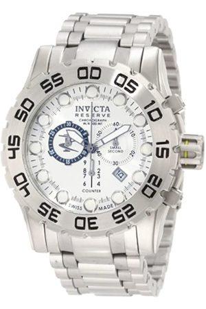 Invicta Herren Uhren - Herren-Armbanduhr XL Reserve Chronograph Edelstahl 0810