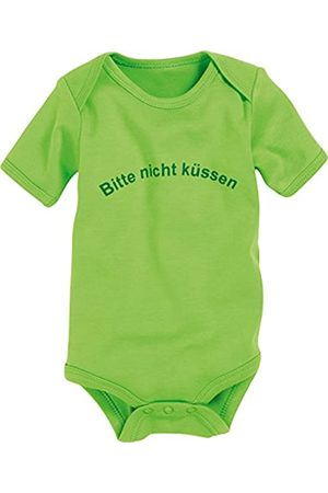 Playshoes Baby Bodys - Body 1/4-Arm 'Bitte nicht küssen' Body Baby - Unisex