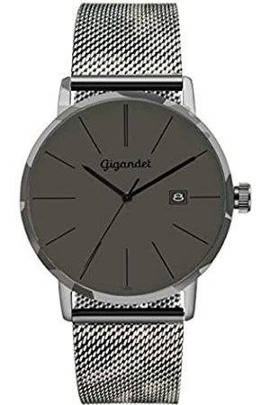 Gigandet Herren Uhren - Herren Analog Quarz Uhr mit Edelstahl Armband G42-016