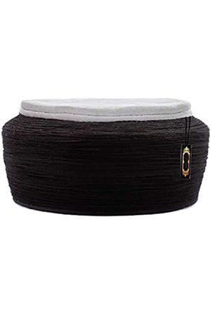 NDA Headwear for Men's Safa for Prayer Cap Pagri Scarf for Head Long Imam Safa (4-Meters
