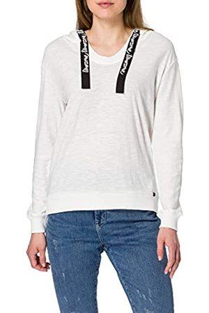 Timezone Damen Sweatshirts - Damen Fine Knit Hoody Kapuzenpullover