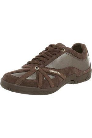 Diesel Sport Damen MoveIn Schnürschuh Mode Sneaker, (Schlamm)