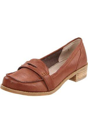 BC Footwear Damen Halbschuhe - Damen Crown Loafer, (Whiskey)