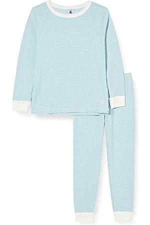 Petit Bateau Jungen Schlafanzüge - Jungen 5904301 Pyjama-Set, Tiki/Marshmallow