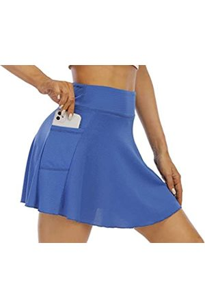 EAST HONG Damen Röcke & Kleider - Damen Tennisrock mit hoher Taille, für Golf, Laufen, Workout