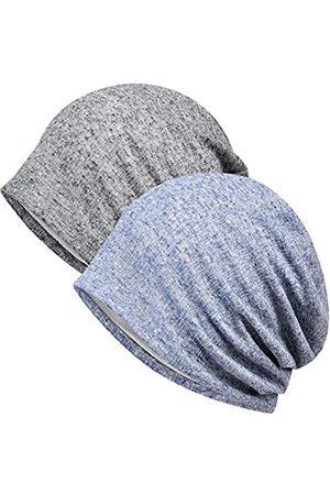 MaxNova Damen Caps - Damen Baumwollmütze mit Spitze, Turban, weich, Chemo-Hüte