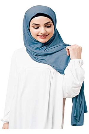 Silk Route InEssence© New Viskose Lycra Jersey Schal Damen Wrap Maxi Hijab Gr. 90