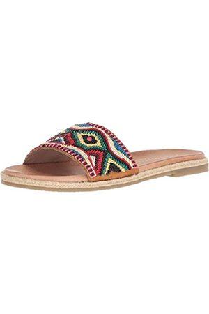 Very Volatile Damen ITHACA Flache Sandale, Red/Multi