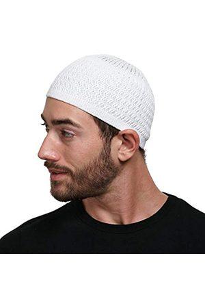 Candid Signature Apparel Herren Hüte - Zickzack-Strickmütze Kufi Mütze Skull Cap Einheitsgröße Herren Damen Chemo - - Einheitsgröße
