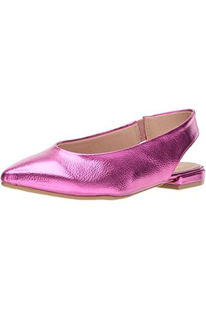 Chinese Laundry Damen Ballerinas - Women's Gracias Ballet Flat, hot Pink/Metallic